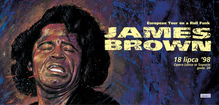 James Brown. Sopot Opera. 1998