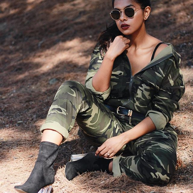 Destiny's child Survivor vibes😁 Happy hump day y'all! 📸 @vaityphotos . . . . . . #fashionblogger #lifestyleblogger #fashion #fashiongram #bohostyle #camostyle #camoprint #camoflauge #missguided #bootieseason #bootie #publicdesire #belt #windsorstore #rayban #roundsunglasses #influencer #ootd#ootdsubmit #whatiwore #style #vsco #vscocam #vscofilter #travelblogger #fallfashion #indianblogger #sfblogger #bayareablogger