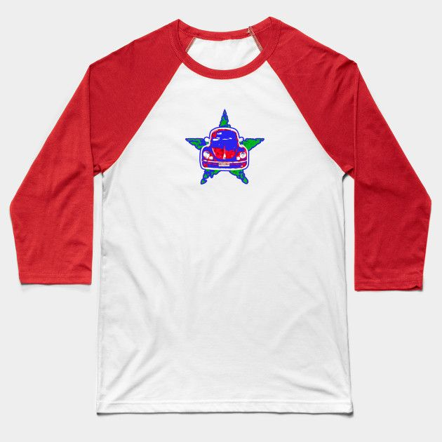 Beetlebug - Classic retro pop-art car design @teepub !!! #teepublic #cooltees #tshirts #baseballtee #retro #classictees #cars #star #streetwear #urbancool #fieldwear