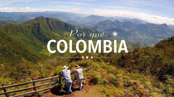 Por qué Colombia ? Pourquoi la Colombie ? Why Colombia ?
