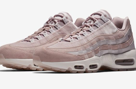 new styles b5c2e 07181 Nike Air Max 95 Deluxe Particle Rose Arriving In January One of the next  colorways on