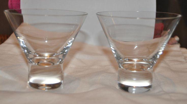 Iittala Aarne cocktail glasses.