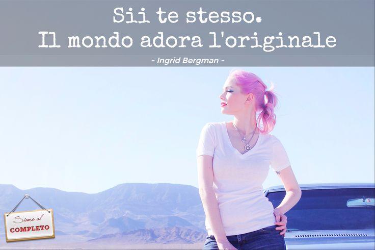 Ecco sì, vero... però i capelli rosa magari no eh :-) - www.SiamoAlCompleto.it -