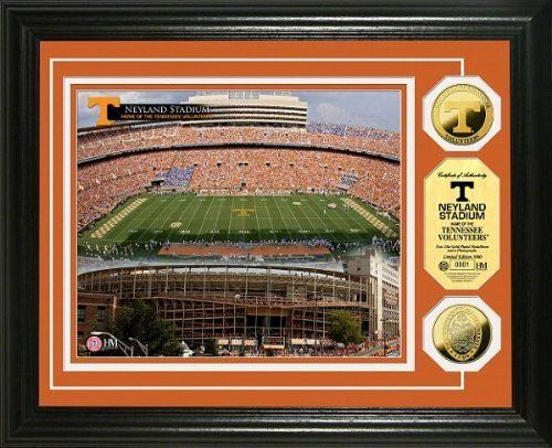 Highland Mint University of Tennessee Neyland Stadium 24KT Gold Coin Photo Mint Display by Highland Mint. Highland Mint University of Tennessee Neyland Stadium 24KT Gold Coin Photo Mint Display.