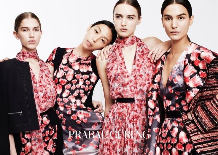 Gurung embraces prints including florals for his pre-fall collection
