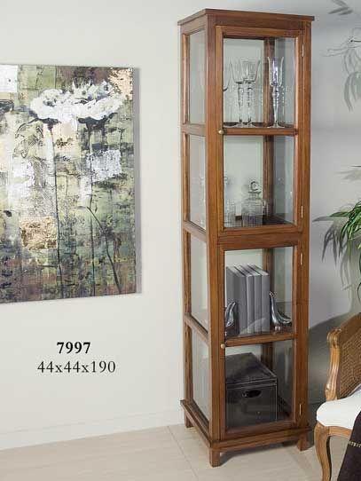 Best 10 vitrinas de madera ideas on pinterest for Vitrinas salon baratas
