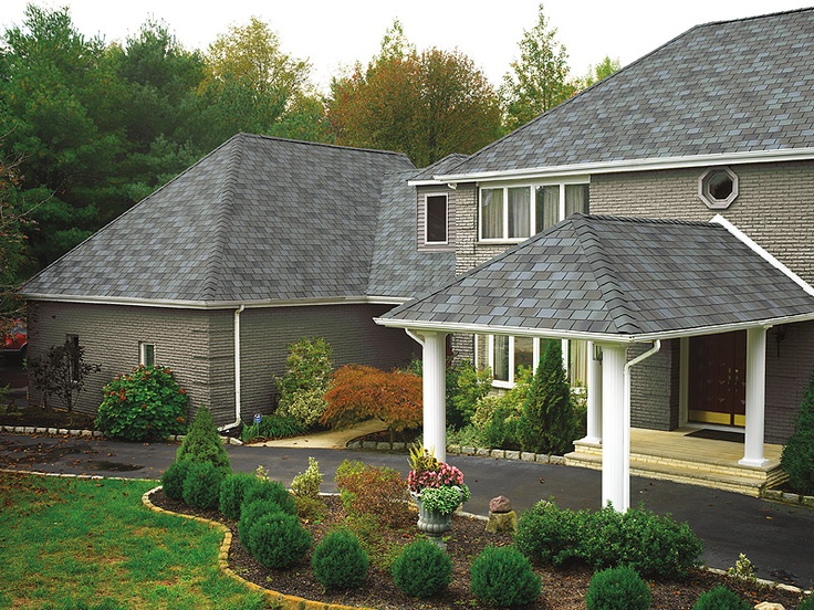 Best 1000 Images About Gaf Grand Slate Ii Shingles On 400 x 300