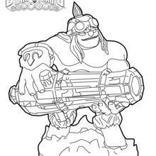 17 best images about skylanders coloring pages on pinterest | trigger happy, free printables and