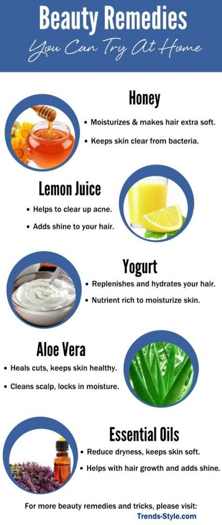 Beauty Remedies You Can Try At Home