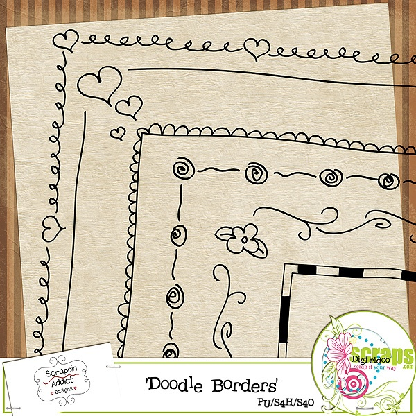 Doodle borders!