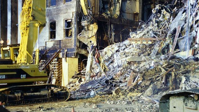 IN PICTURES: Never-before-seen photos from 9/11 Pentagon attack released by FBI - 9news.com.au