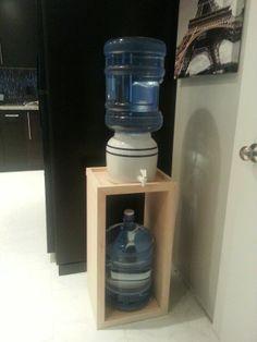 Image result for water dispenser stand diy