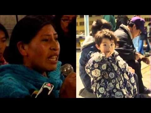 """""""Si nos permiten hablar"""" (las voces de la VIII marcha indigena en defensa del TIPNIS, Bolivia)"""