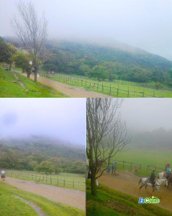 Así estuvo el clima hoy en las Lomas de Cubiro