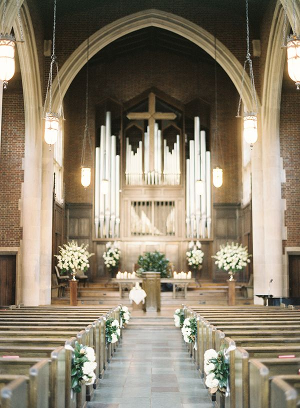 Best 25 church wedding flowers ideas on pinterest church timeless black tie wedding in nashville abbi john wedding church aislechurch junglespirit Image collections
