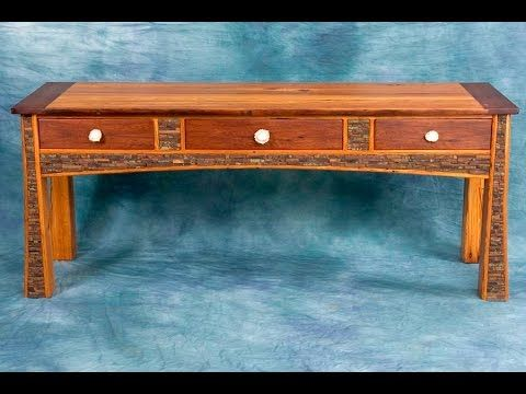 Sofa Table with Drawers, Console and Table