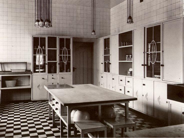 Palais Stoclet kitchen - Josef Hoffman - Brussels