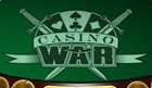 Casino War is the same as high low. It has very good odds.