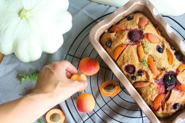 Apricot bread with Patty Pan / Meruňkový chlebíček s patizonem