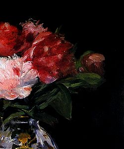 Flowers by Édouard Manet, part III.