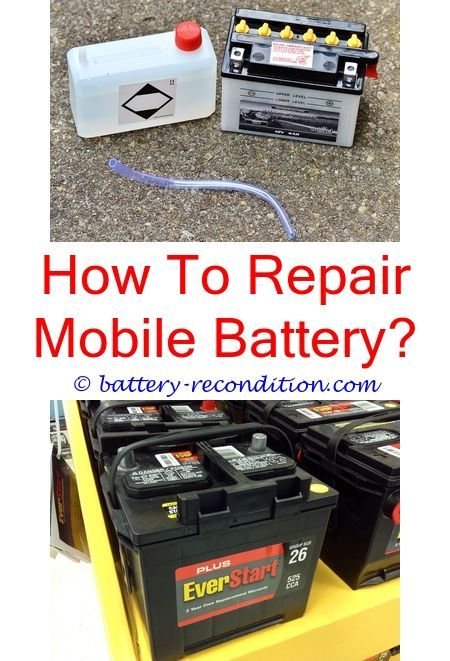 Batteryrecyle Battery Cables Repair Ends 1998 Ford Expedition Ipod Nano Fix Batteryreconditioning How To Chip The Robot Dog Out Of Batteries