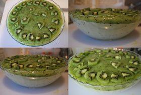 Essa semana comprei um cestinho de kiwis, mas como eram tantos resolvi fazer alguma sobremesa com a fruta. Depois de procurar na net vária...