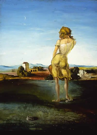 Girl with Curls by Salvador Dali, 1926.
