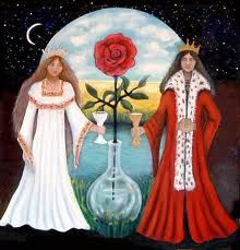 Conjunction - Alchemical Marriage of the White Queen & the ...