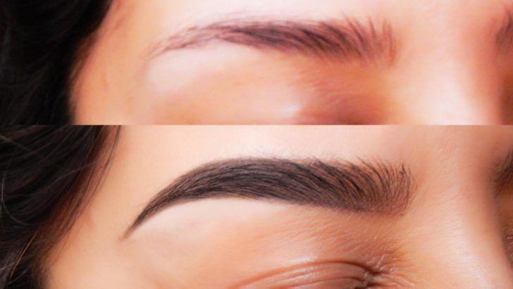 Este truco casero hace crecer tus cejas casi al a 1000, mira como funciona