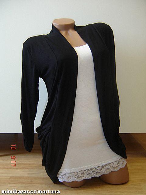 Dámský cardigan kabátek přehoz více barev