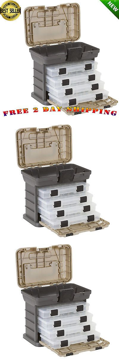 Tackle Boxes and Bags 22696: Fishing Tackle Box Plano Lures Storage Tray Bait Case Tool Organizer Bulk Drawer -> BUY IT NOW ONLY: $37.67 on eBay!