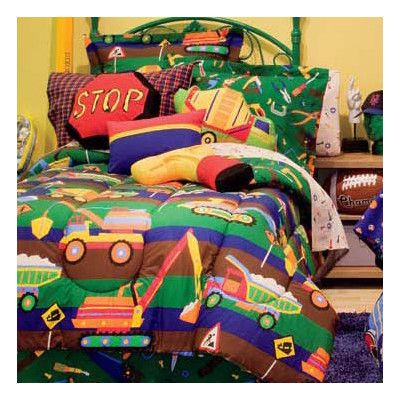 Royale Linens Tyler's Toy Chest Bed in a Bag Set & Reviews | Wayfair