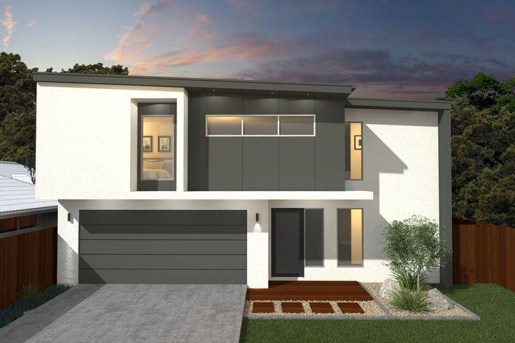 Costa Home Designs  Sunshine Coast Home Builders  VILLA260 Signature Facade