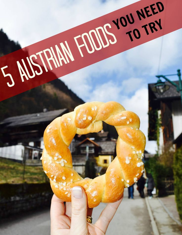 Austrian recipes and dishes EVERY foodie will love! Be sure to try these on your next Europe trip -- your stomach will thank you for it.