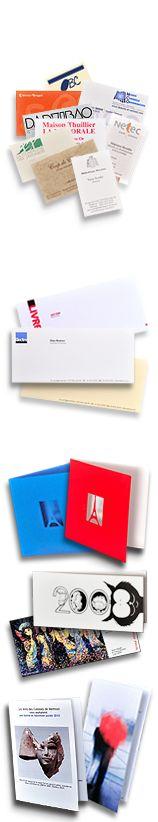 Cartes de visite, cartes de correspondance, cartes postales, cartes de #voeux. Imprimerie TYPOdeon #postcard