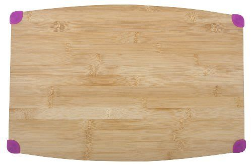 Core Bamboo 1024 Thin Corner Grip Cutting Board, Extra Large, Magenta by Core Bamboo. Save 33 Off!. $28.16. Extra-large, light-weight cutting board by core bamboo; measures 12 x 18-inch. Thinner design makes for easier transport in and around your kitchen. Knife-friendly surface helps protect blade integrity. Silicone corner grips create more stability while in use. Durable for any kitchen prep, beautiful enough to serve food in style. Combining the best of both worlds: bamboo cutt...