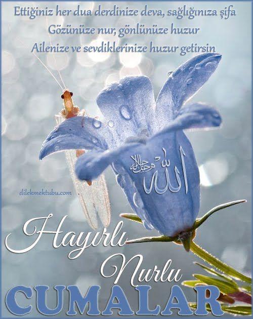 Ettiğiniz her dua derdinize deva, sağlığınıza şifa   Gözünüze nur, gönlünüze huzur     Ailenize ve sevdiklerinize huzur getirsin..   H...