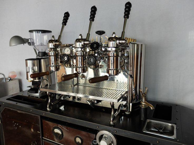 espresso machine cart