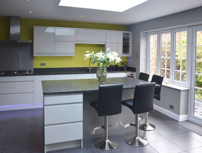 Remo Dove Grey - Avanti Kitchens & Bedrooms kitchen