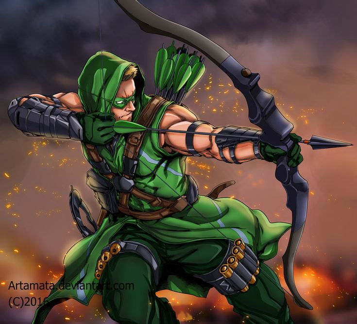 GreenArrow by Artamata on DeviantArt