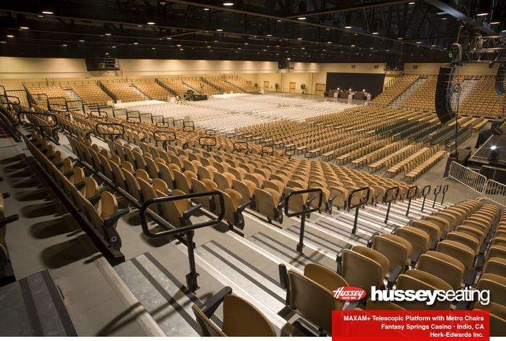 Fantasy SpringsCasino - MAXAM+ Telescopic Platform: Photos - Hussey Seating