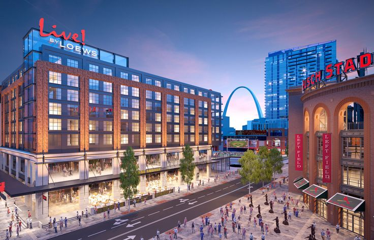 ST. LOUIS/ Oct. 4, 2017 (StlRealEstate.News)  Loews Hotels & Co, a wholly owned subsidiary of Loews Corporation (NYSE: L), announced today plans to build its first ever St. Louis hotel, which will be part of Ballpark Village s $260 million expansion project.  Ballpark Village, developed by the St. Louis Cardinals and The Cordish Companies, is a [ ] The post Loews Hotels & Co Announce First St. Louis Property Hotel Will Be Part Of Ballpark Villa