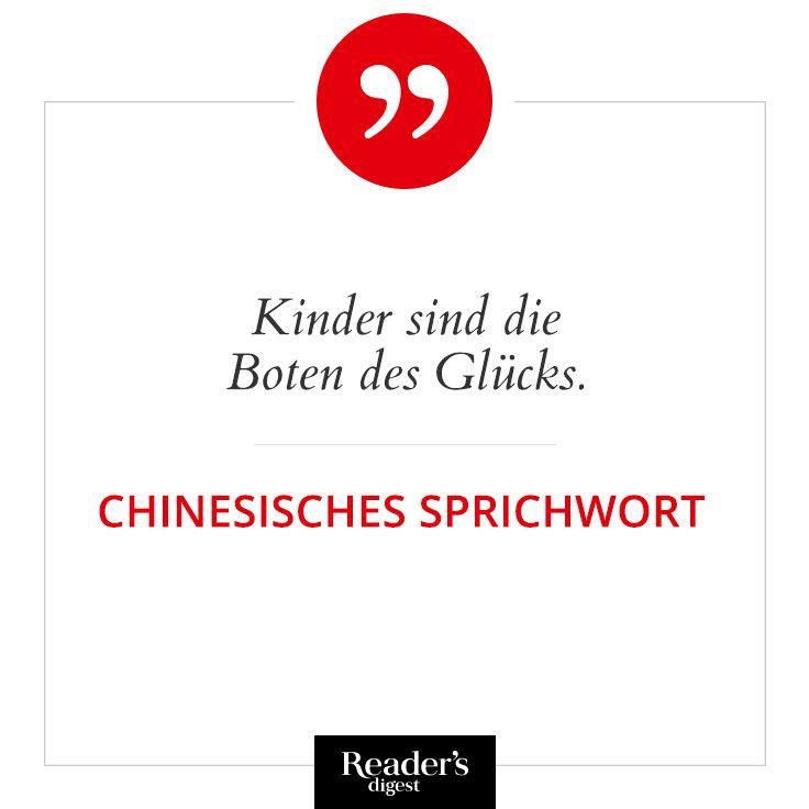 Kinder sind die Boten des Glücks. - Chinesisches Sprichwort   Kinder ...