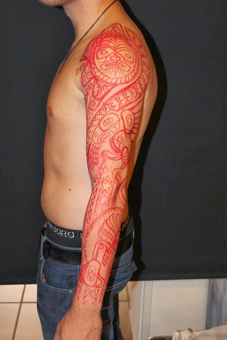 45 best haida sleeve tattoos templates images on pinterest arm tattoos sleeve tattoos and. Black Bedroom Furniture Sets. Home Design Ideas