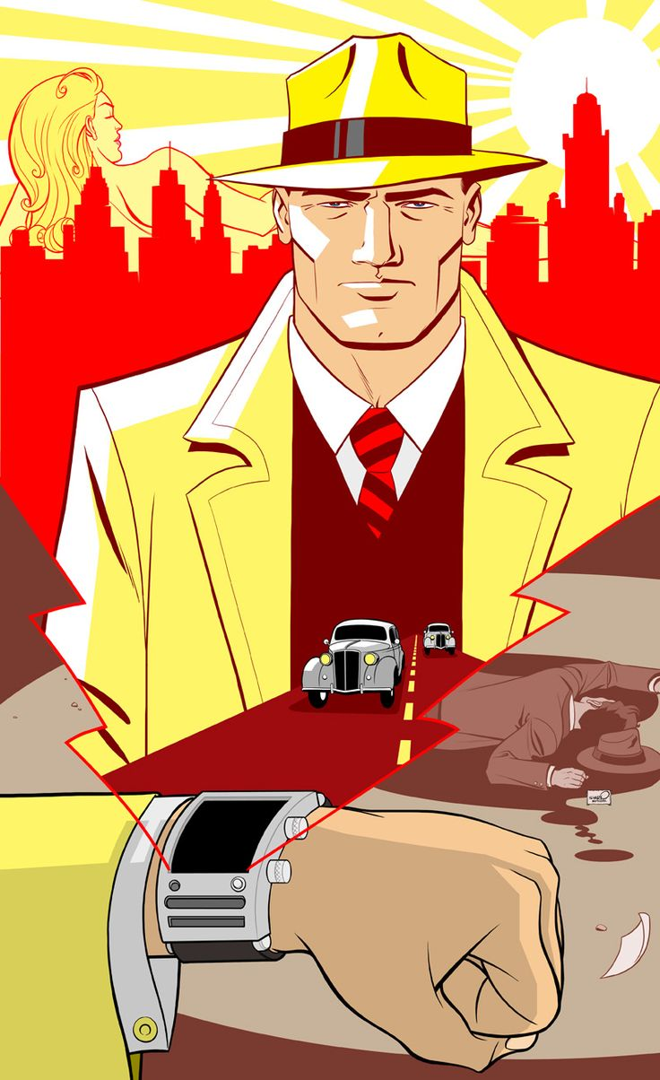 "Calling ""Dick Tracy"" by sharpbrothers.deviantart.com on @deviantART"