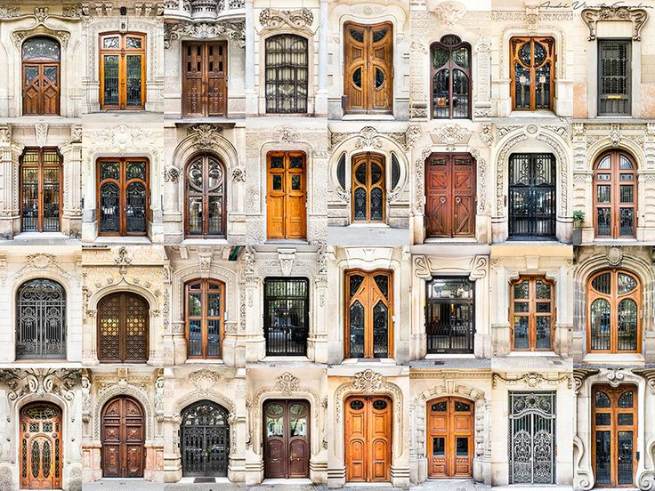This gorgeous collection of photographic montages highlightsregional similarities and differences between types and styles of door and window designs all across Europe, starting withPorto, Portug…