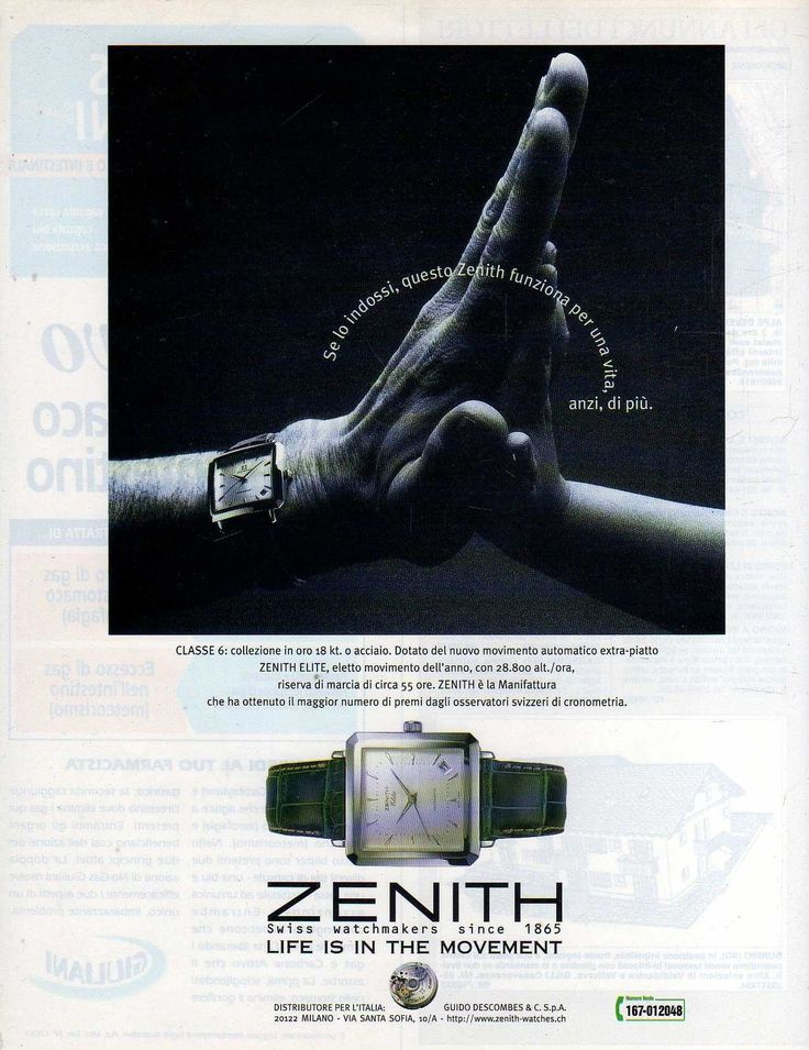 Z87 Pubblicità Advertising 1997 Classe 6 Zenith Elite | Collezionismo, Pubblicitario, Ulteriori temi | eBay!