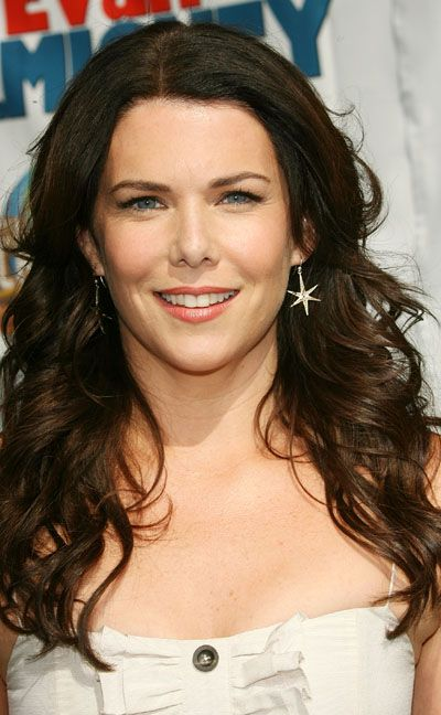 Lauren Graham--I have been told that she is my doppelgänger by a few people over the past few years...hmmm, I wish but I don't see it?! :-/