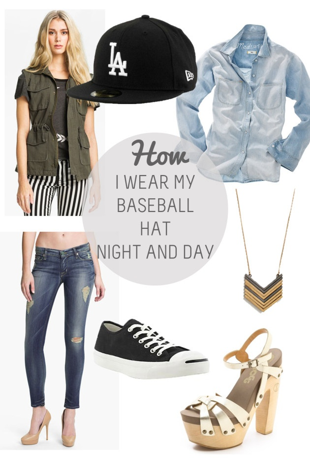 baseball hat outfit