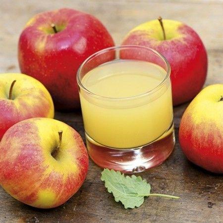 Succo d'arancia e mela